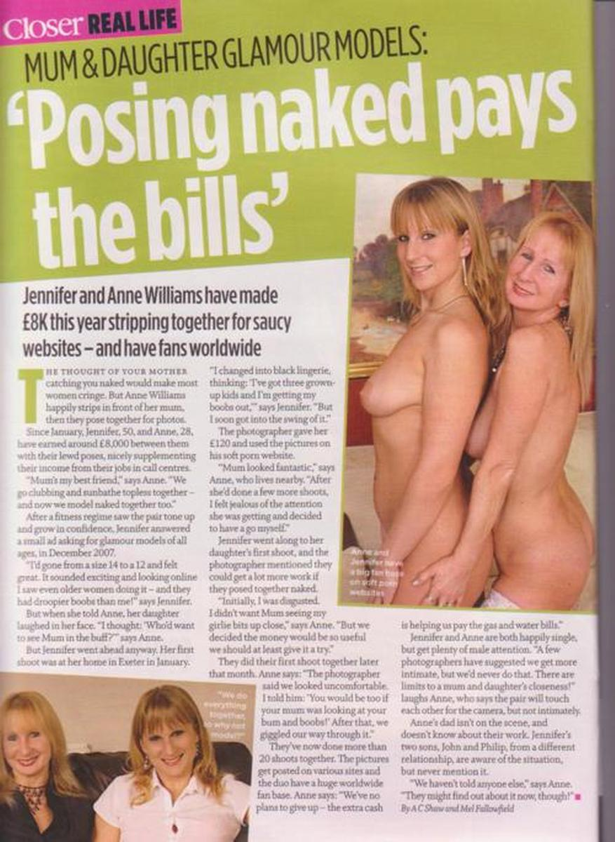 Posing nude and daughters mothers Naturism at